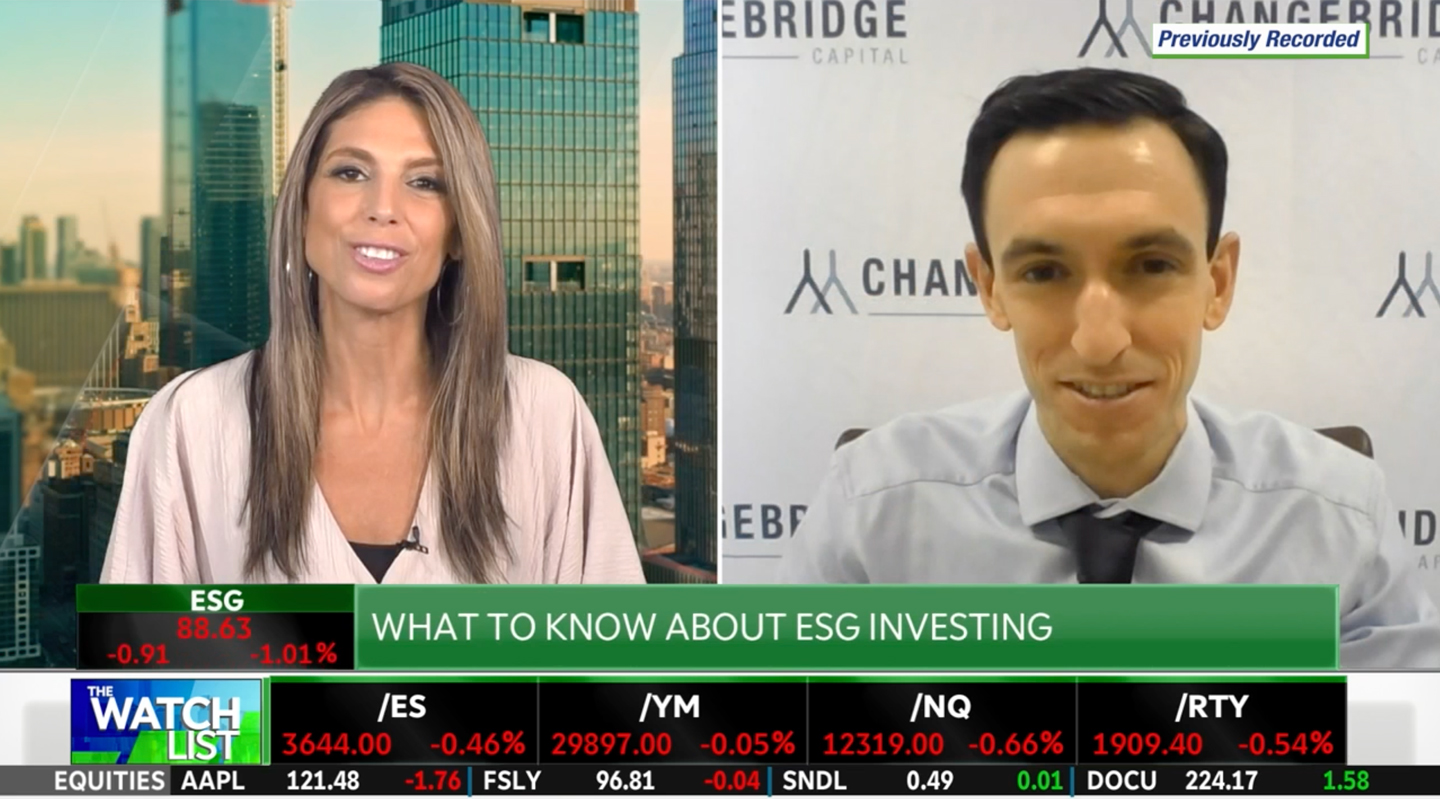 What to know about ESGInvesting