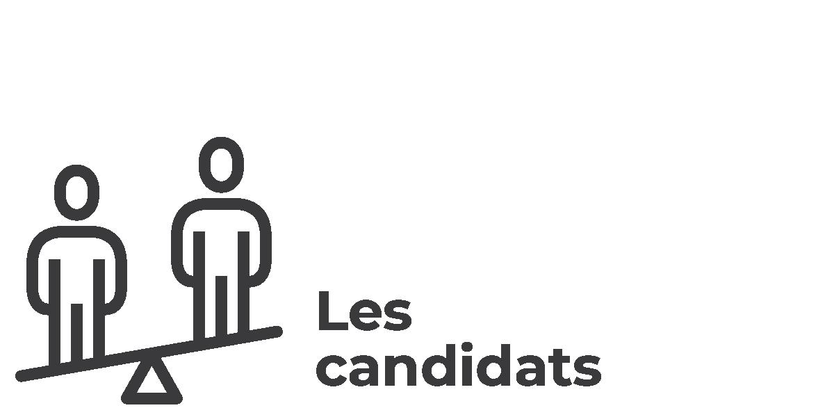 Élections municipales 2021 - vsll - Icônes Les candidats