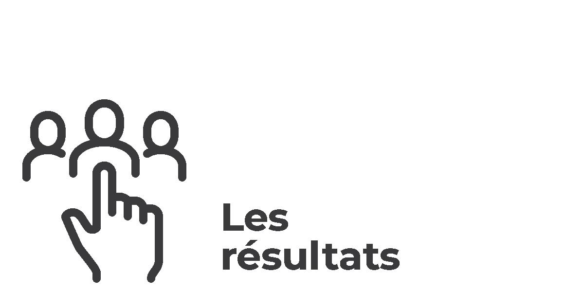 Élections municipales 2021 - vsll - Icônes Les résultats