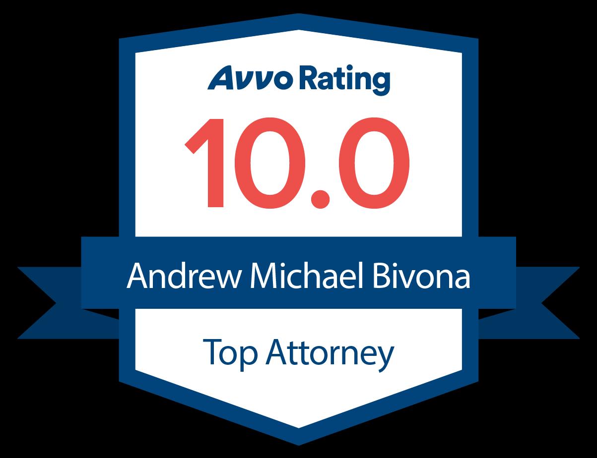 Arvo Rating Badge 10.0 Top Attorney