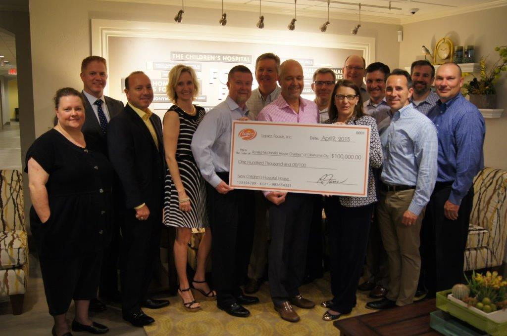 New Ronald McDonald House Donation