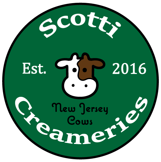 A logo for a dairy company.