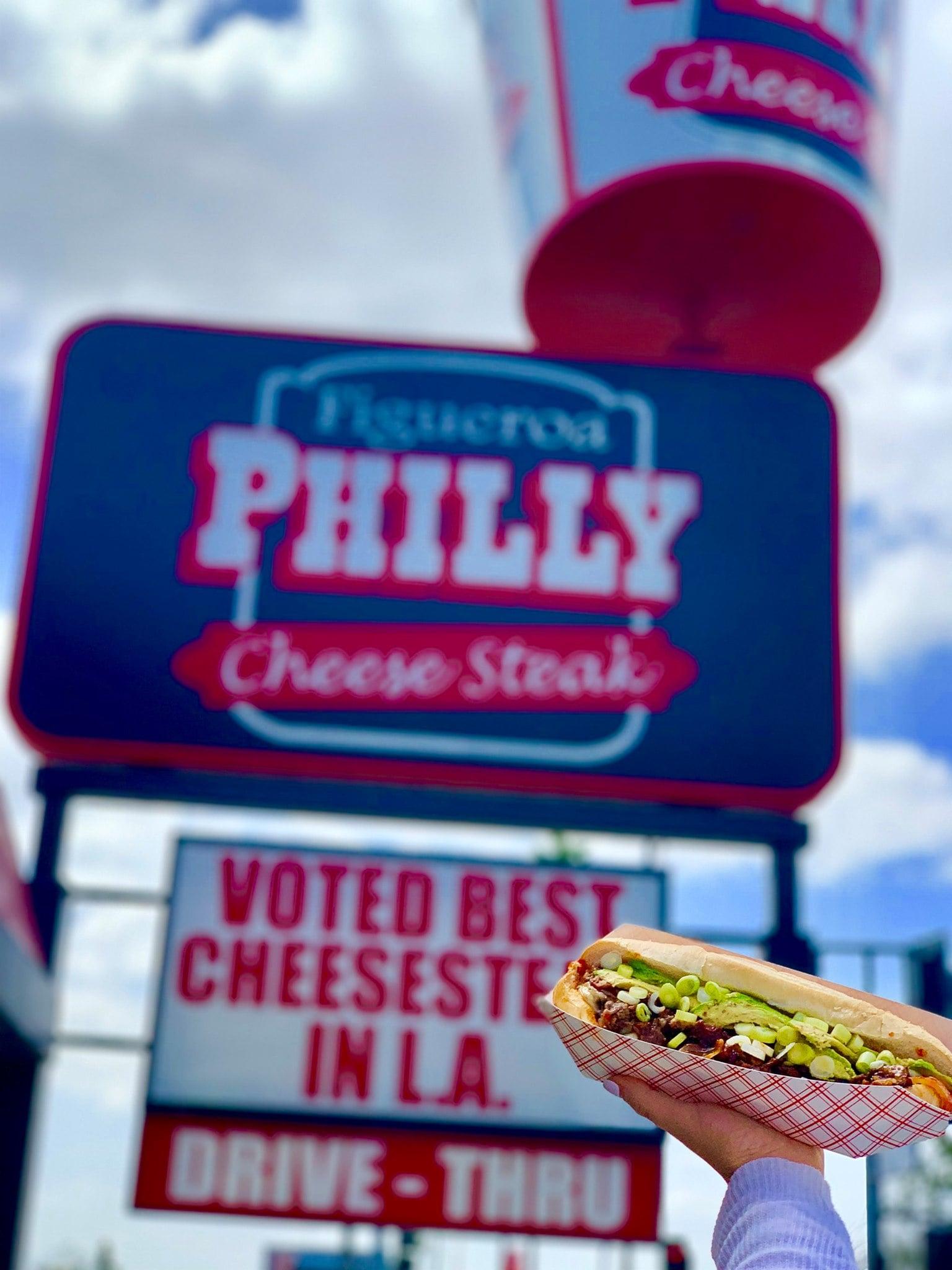Best cheesesteak Los Angeles