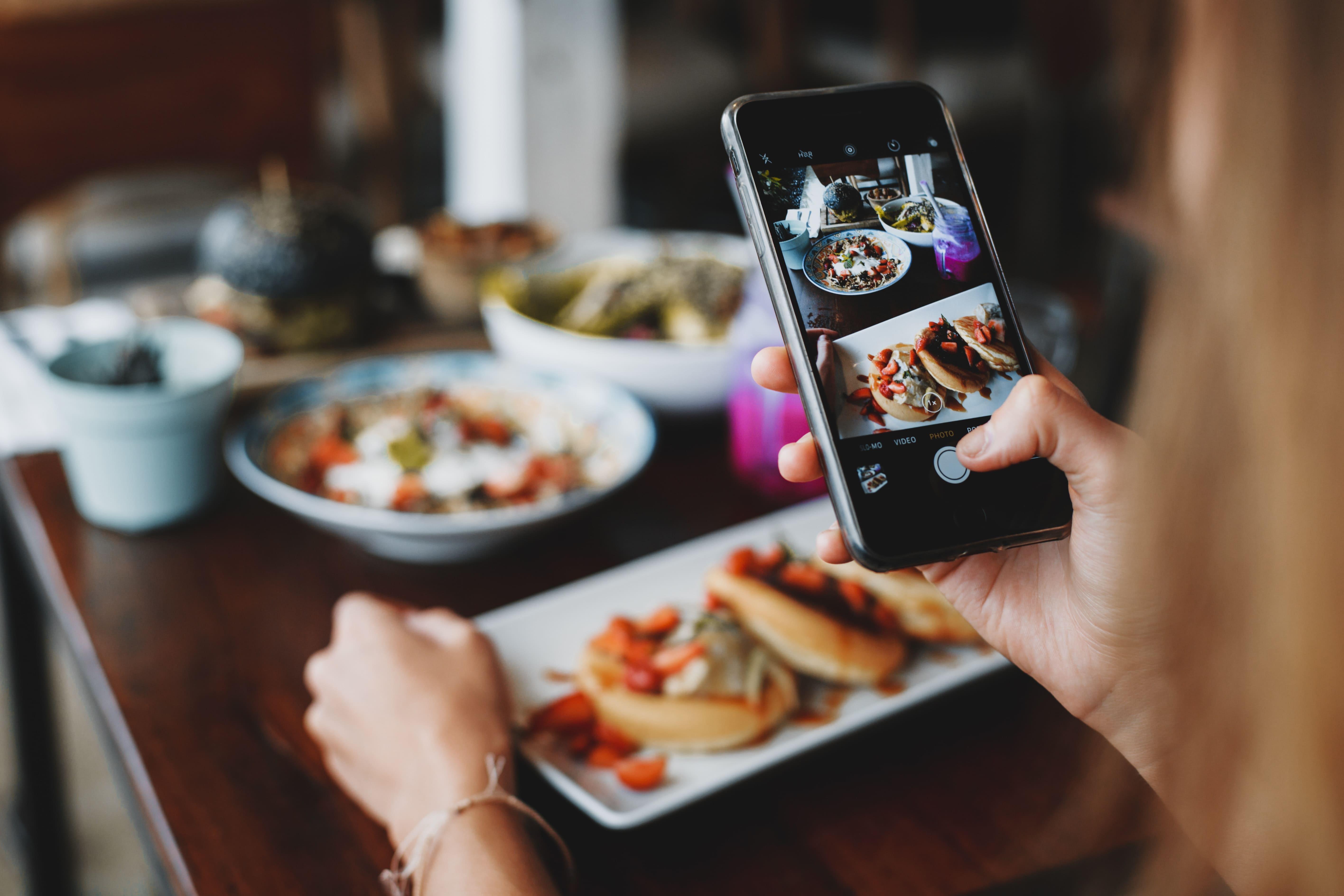 Taking Instagram Food Photos