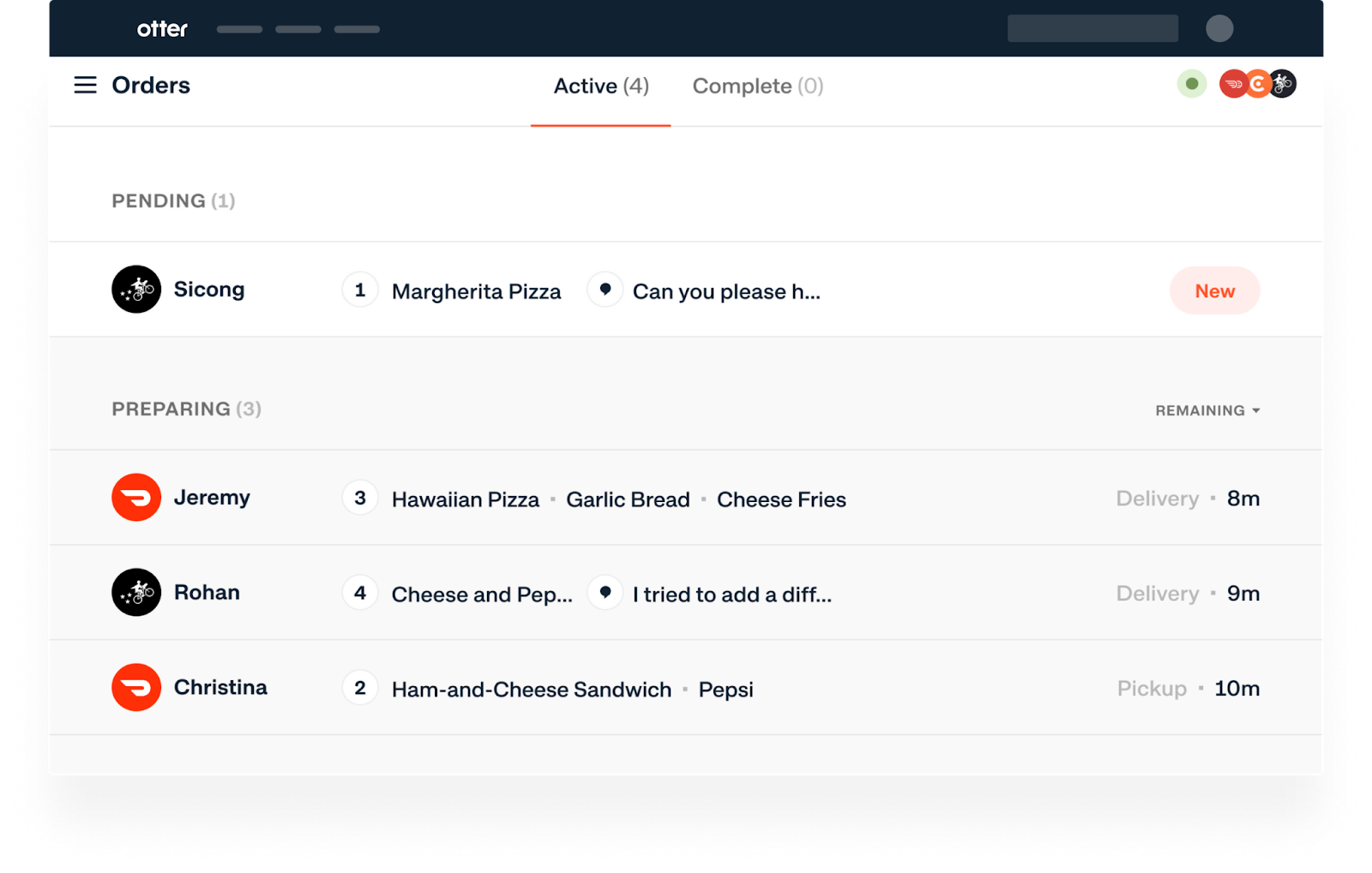 delivery platform aggregator