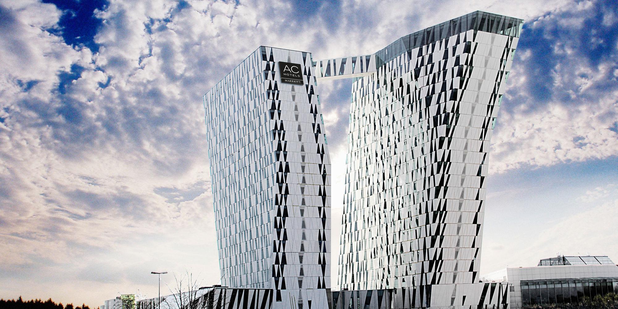 Foto af Bella Sky hotellet på Amager, København.