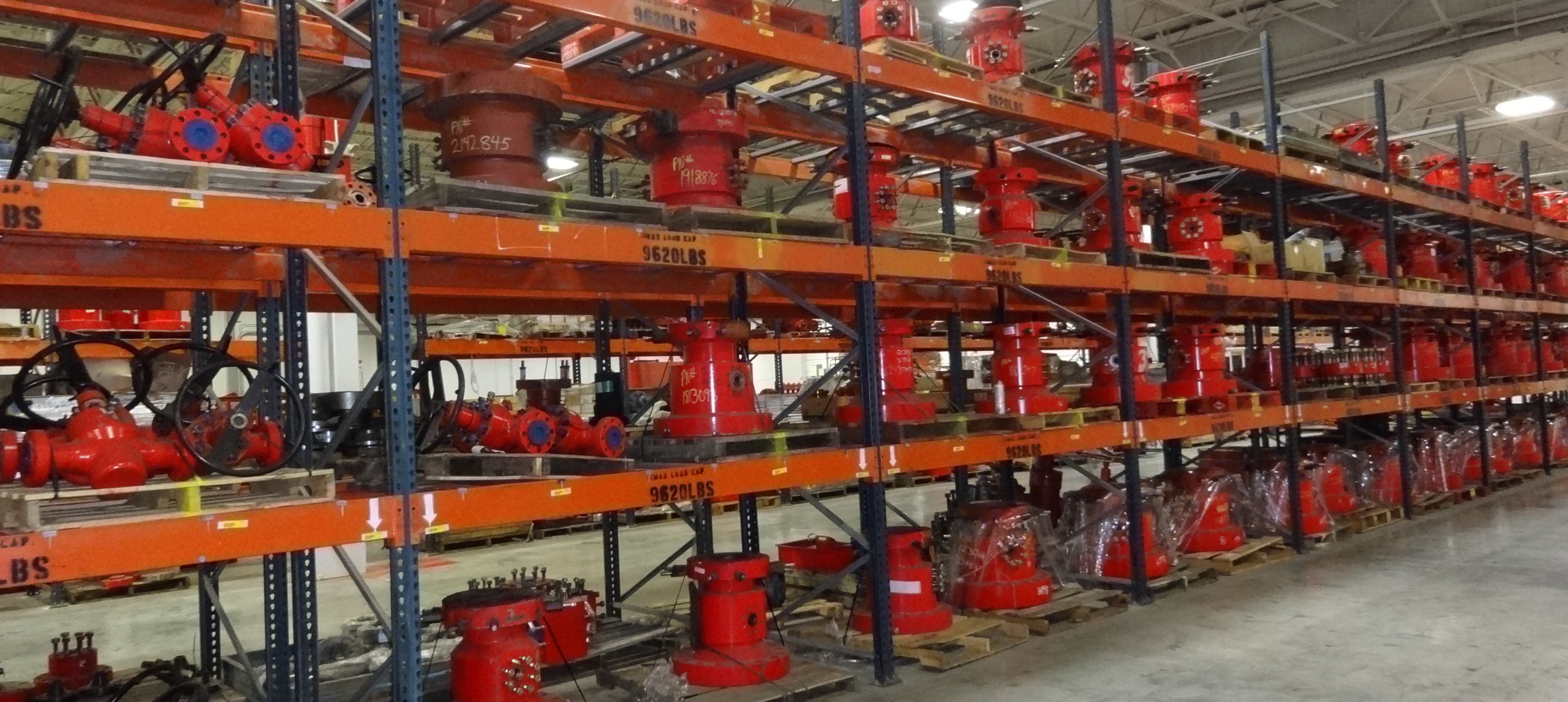 Full circle energy Valve warehouse