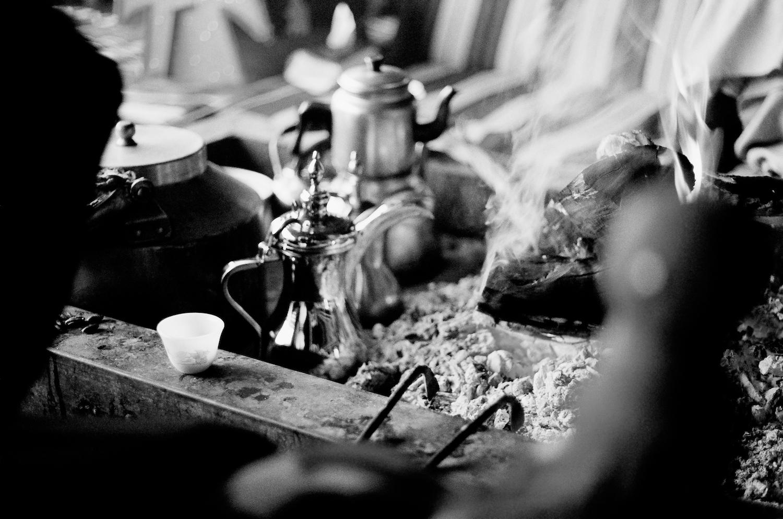 Brewing Arabic coffee - Bafarat, Jeddah