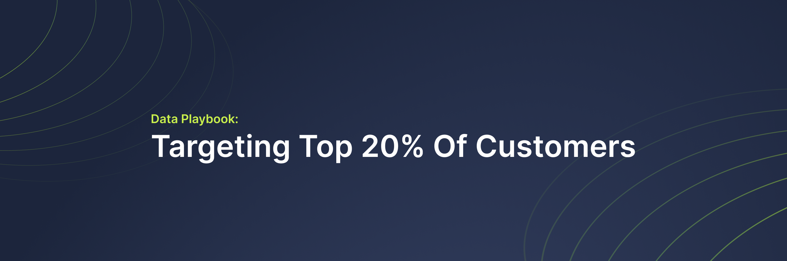 Identify who are the top-performing customers based on RFM scores and stream their profile data into your Marketing channels to incentivize your best customers to purchase more frequently.