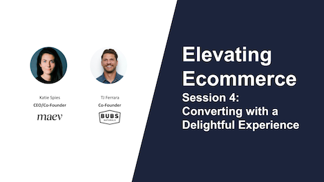 Catch 4 key takeaways from Session 4 of the Elevating eCommerce webinar series: learn how 2 leading eCommerce brands are building extraordinary brand loyalty among their customers.