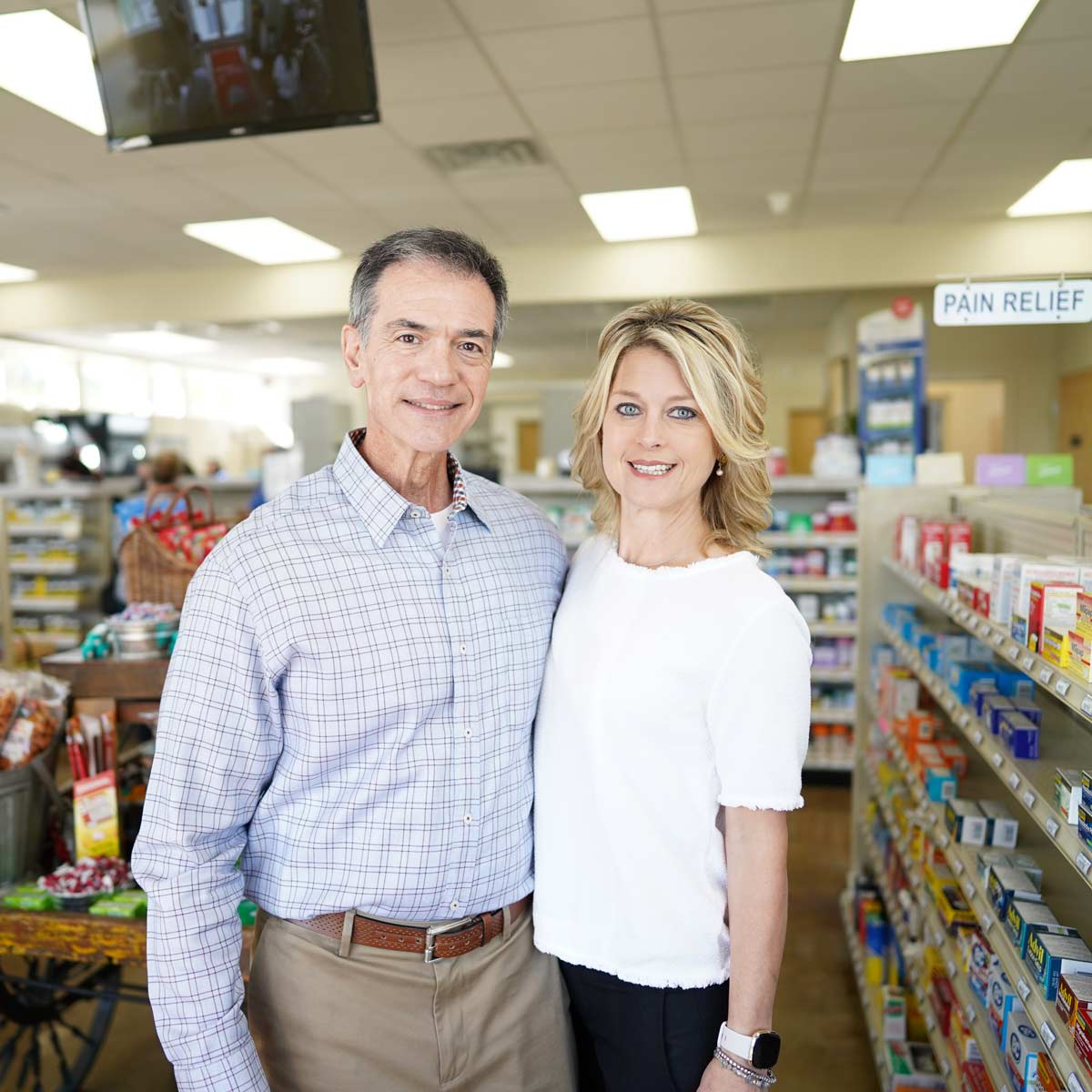 Drive-In Drug Store Gerald Giardina and Melinda Giardina