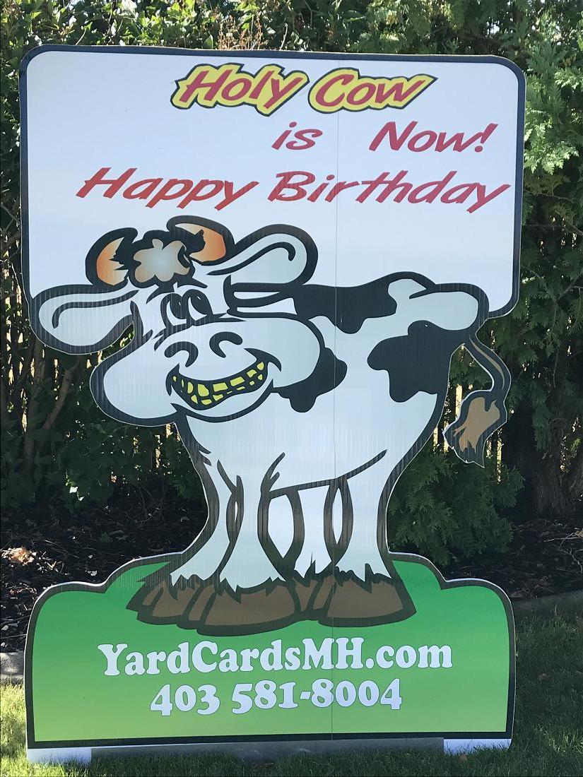 Yard Cards Medicine Hat