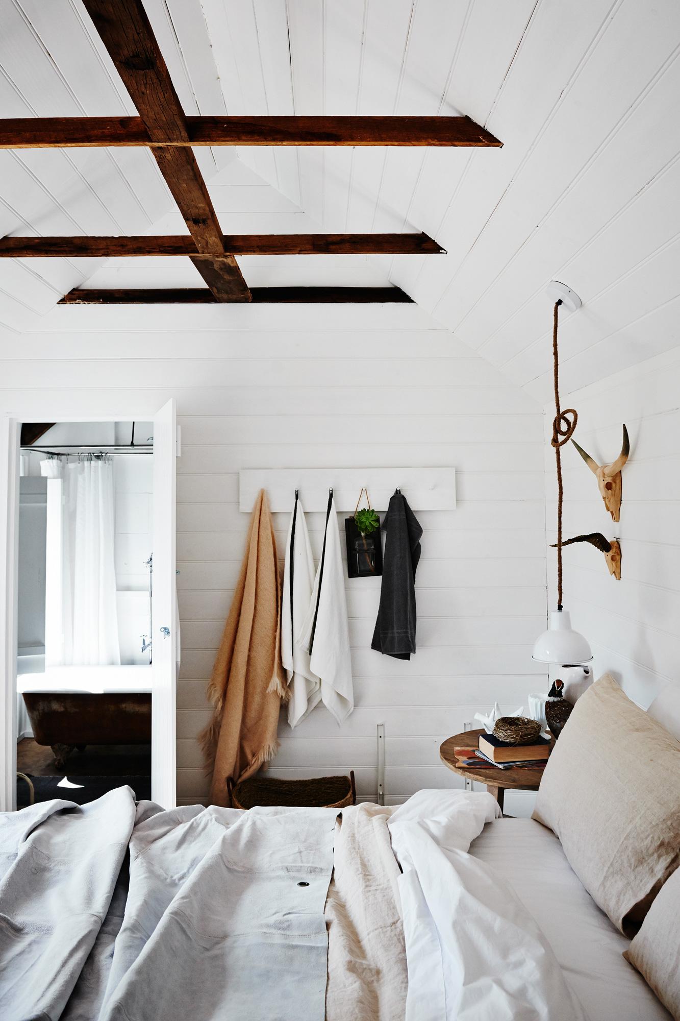 Room + Board bathroom
