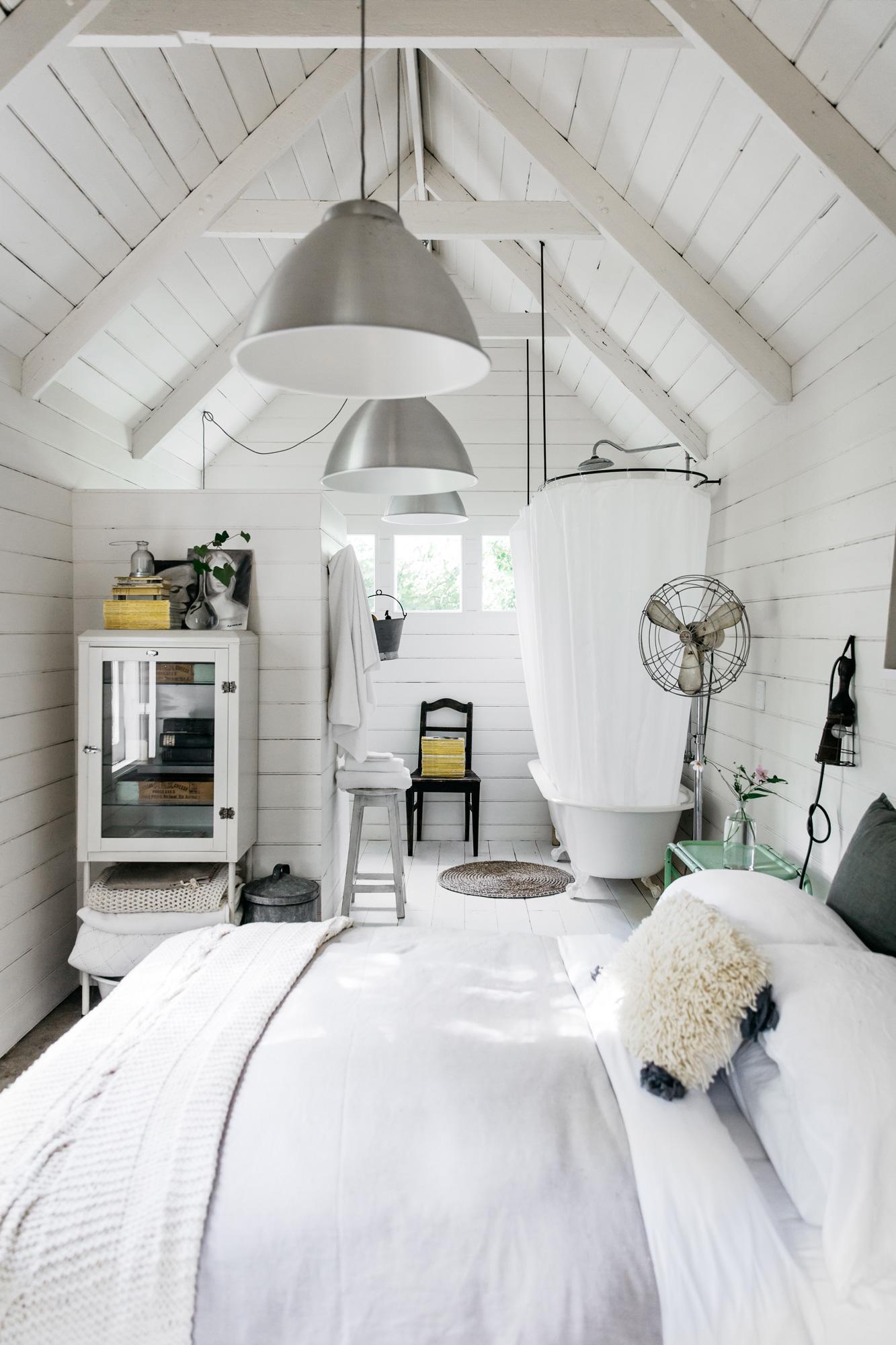 Room + Board bedroom