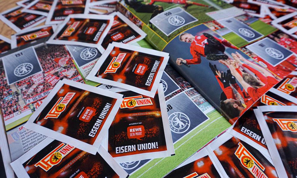 Das Stickerstars-Album des FC Union