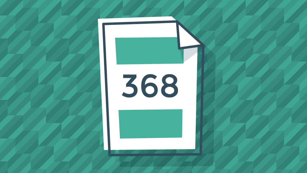 Instrucciones para rellenar el modelo 368 de IVA digital