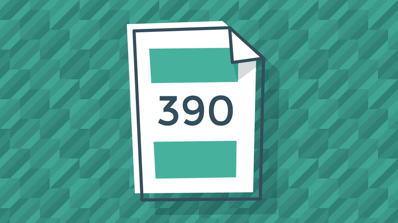 Instrucciones para rellenar el modelo 390 de resumen anual del IVA