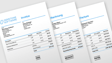 Customise Your Invoices Design