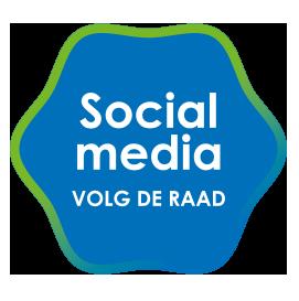 Social media - Volg de Raad