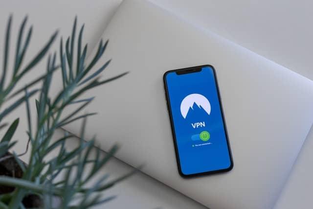 vpn on an iphone