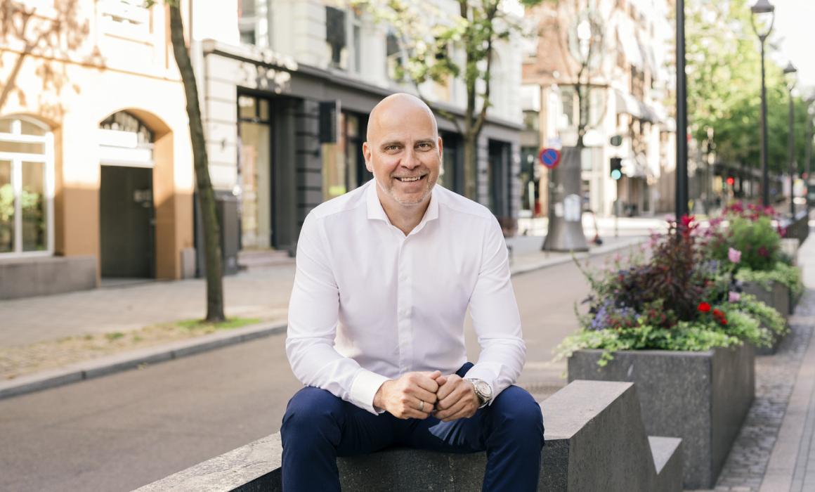 Bilde av Marius Dybdahl, CEO hos Monner Crowd