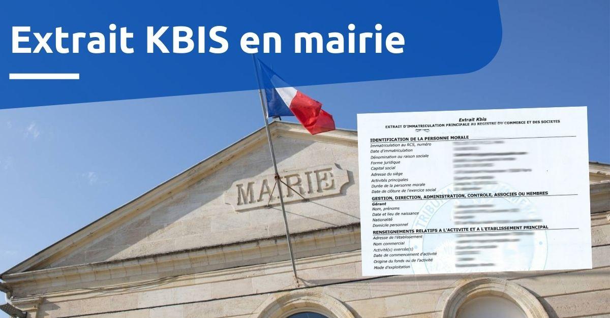 extrait kbis en mairie