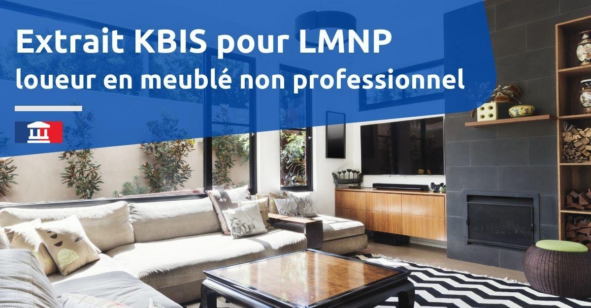 extrait kbis lmnp