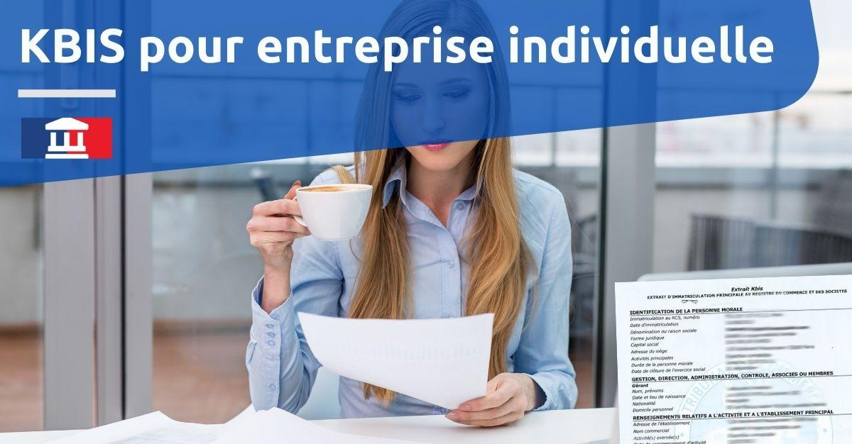 KBIS pour entreprise individuelle