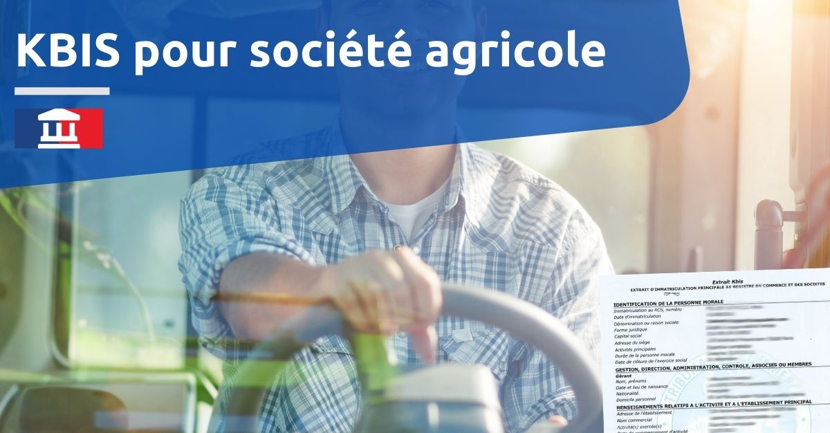 kbis societe agricole