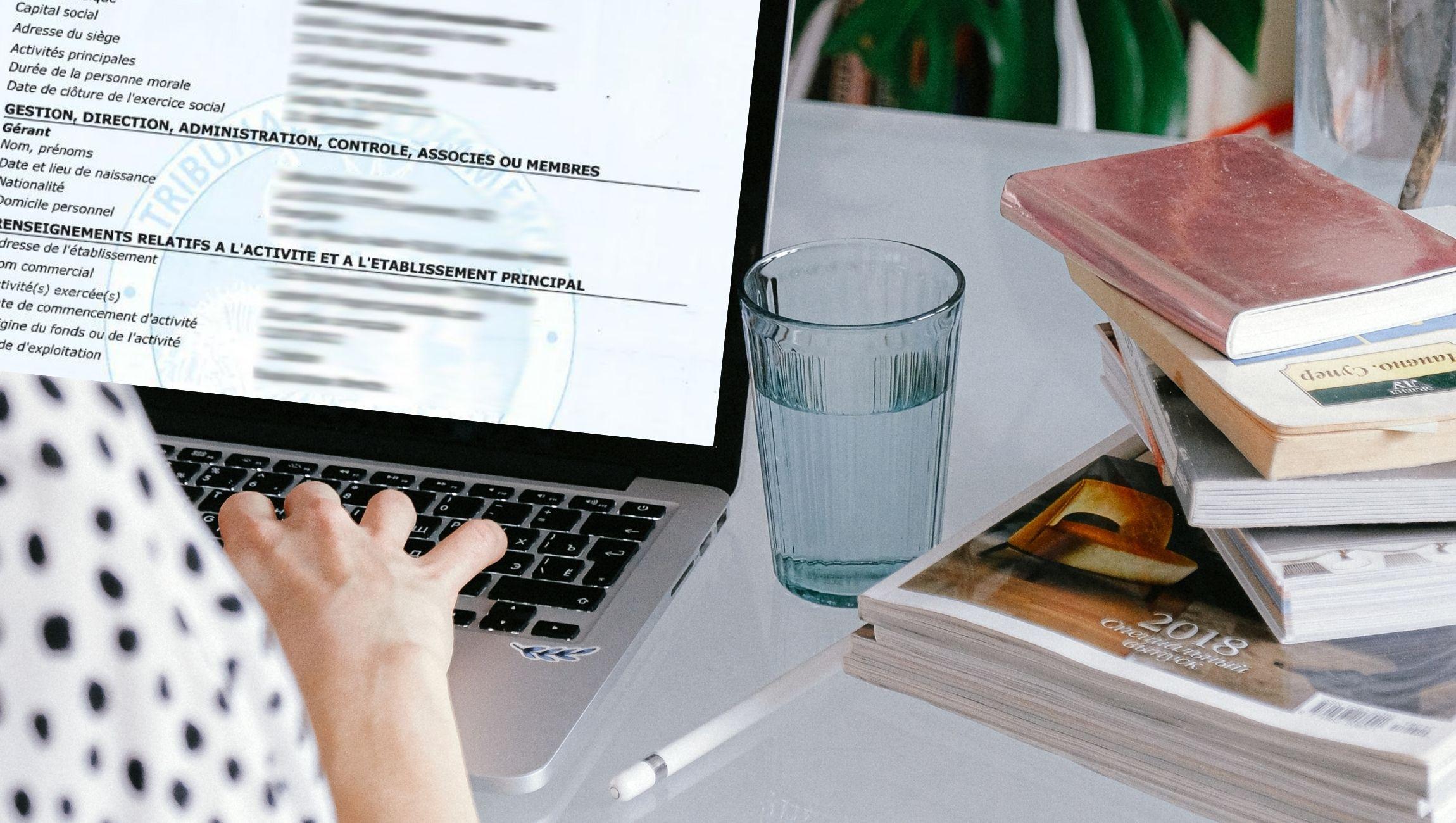 Extrait KBIS pour freelance