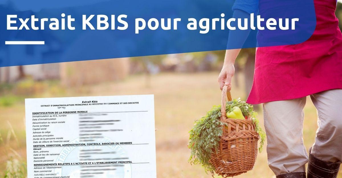 extrait KBIS agriculteur