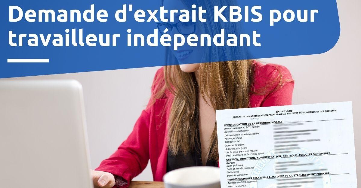 extrait kbis travailleur indépendant