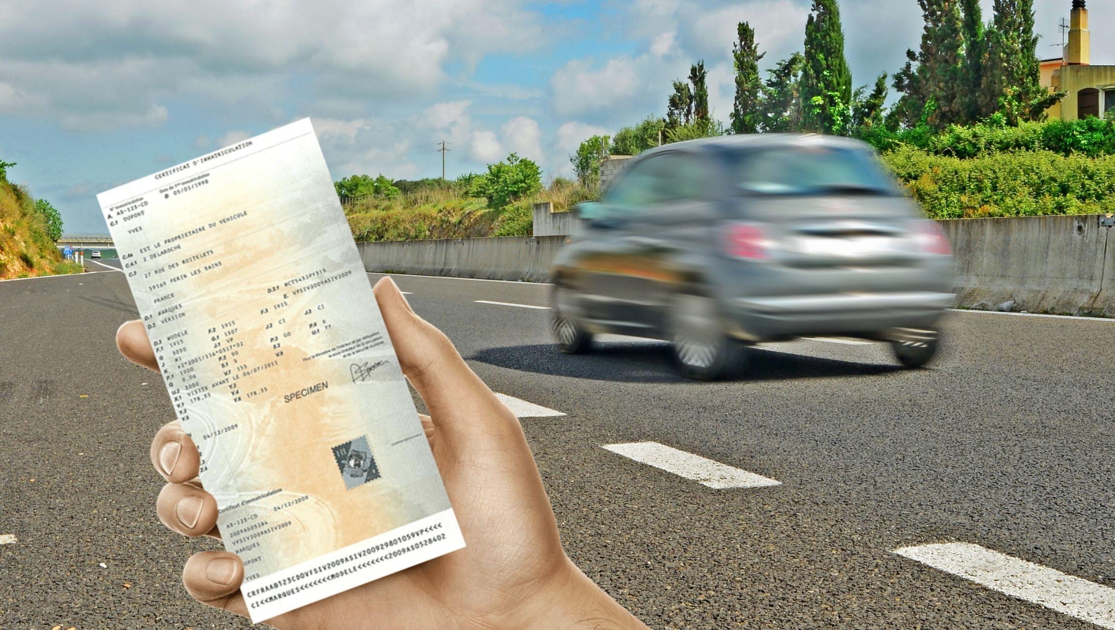 Changement carte grise suite à l'achat d'un véhicule d'occasion