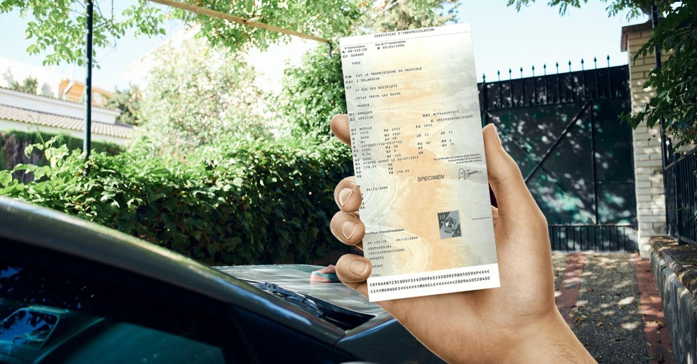 Changement d'adresse carte grise pour voiture