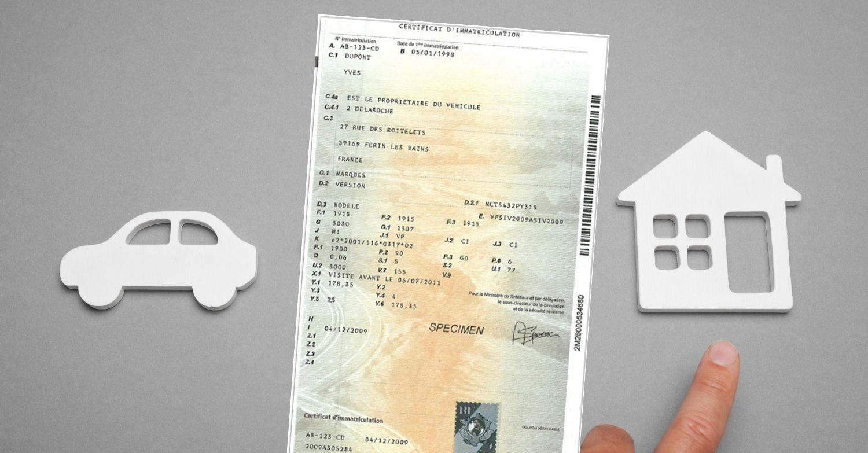 Changement adresse carte grise gratuit ou payant ?