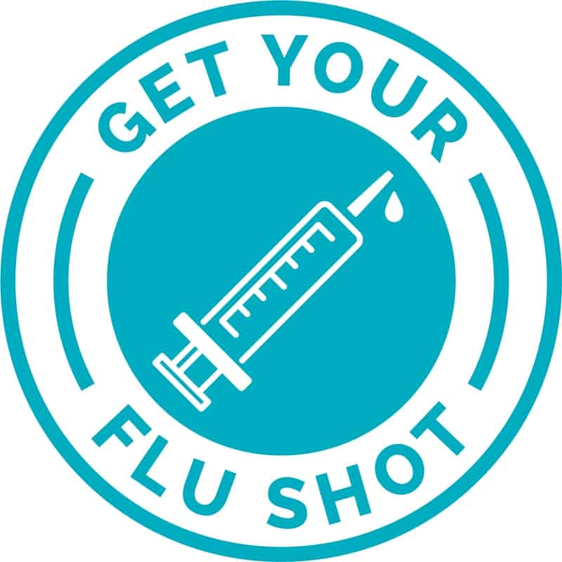 Get your flue shot logo