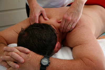 A relaxing Massage