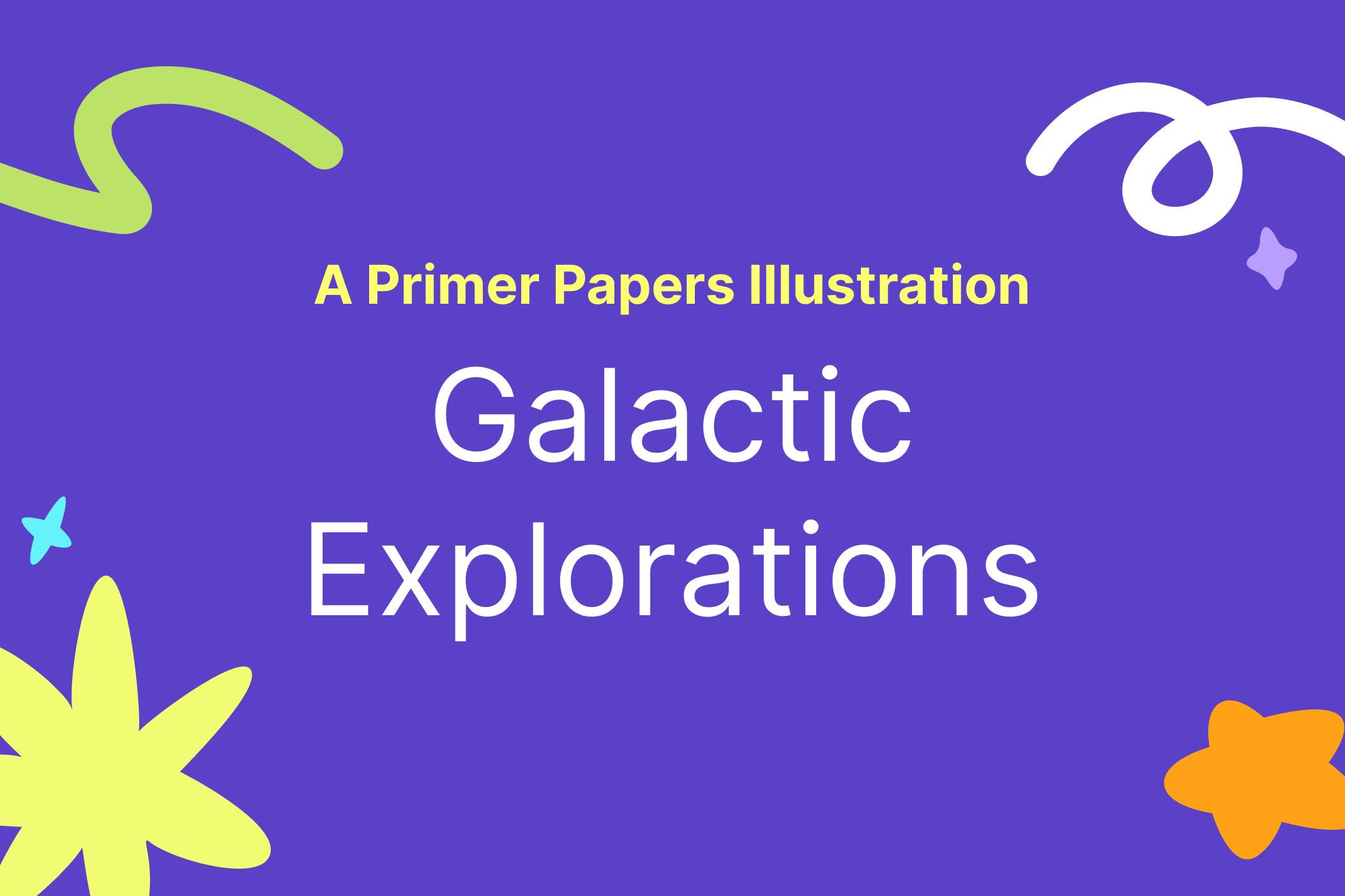 A Galactic Explorations Digital Illustration by Sierra