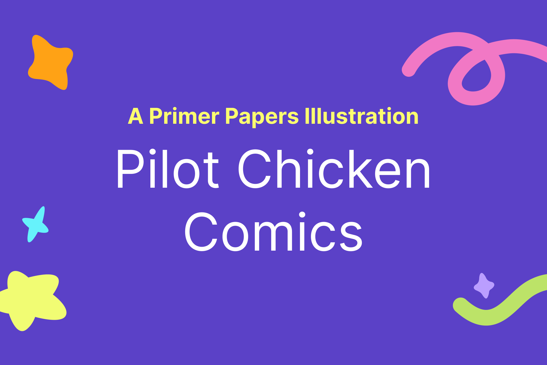 Pilot Chicken Comics by Victory