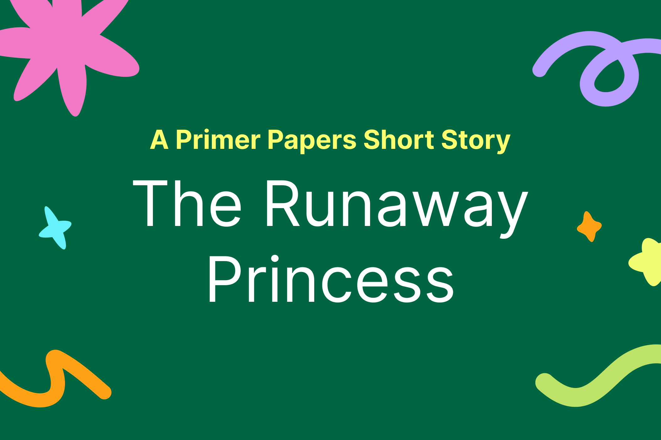 The Runaway Princess by Marinette