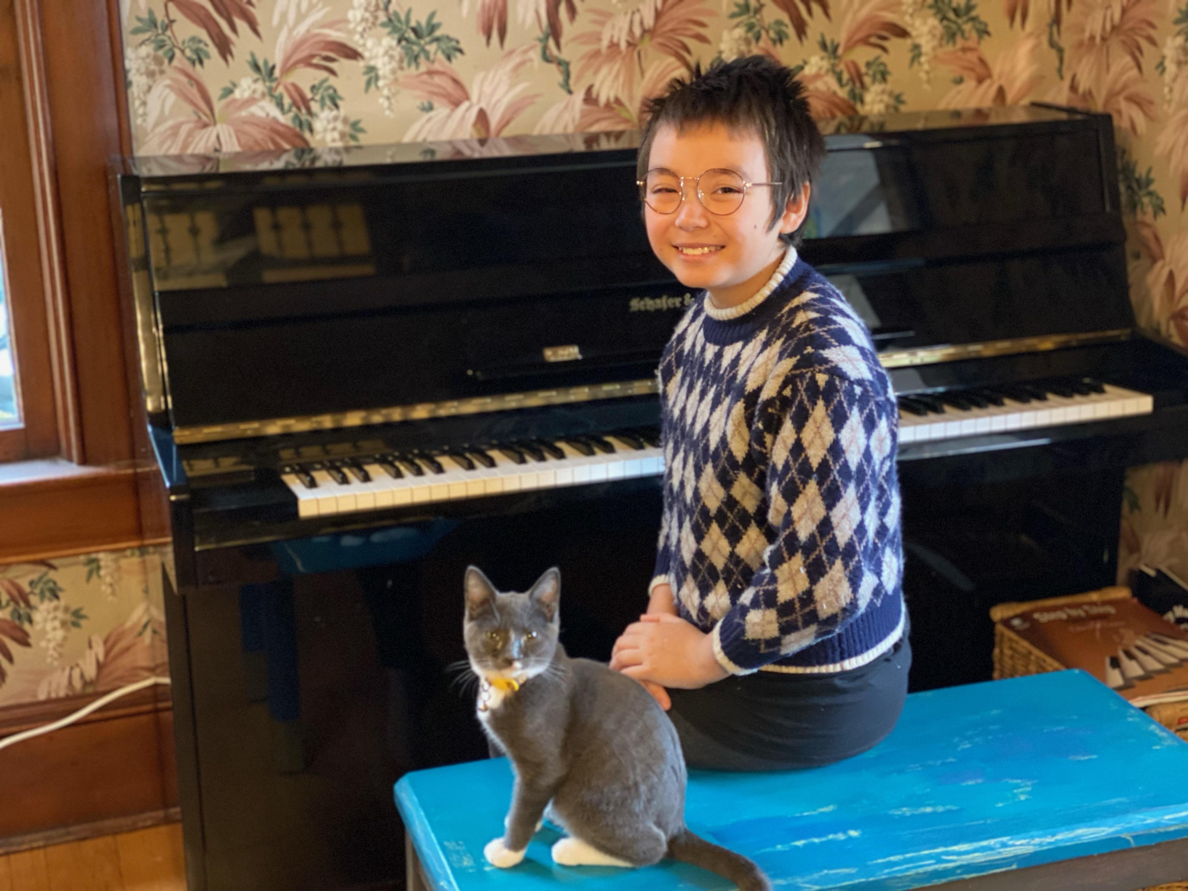 Meet Finn Yang: Writer and Musician