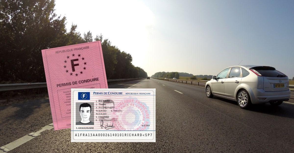 Perte permis de conduire france
