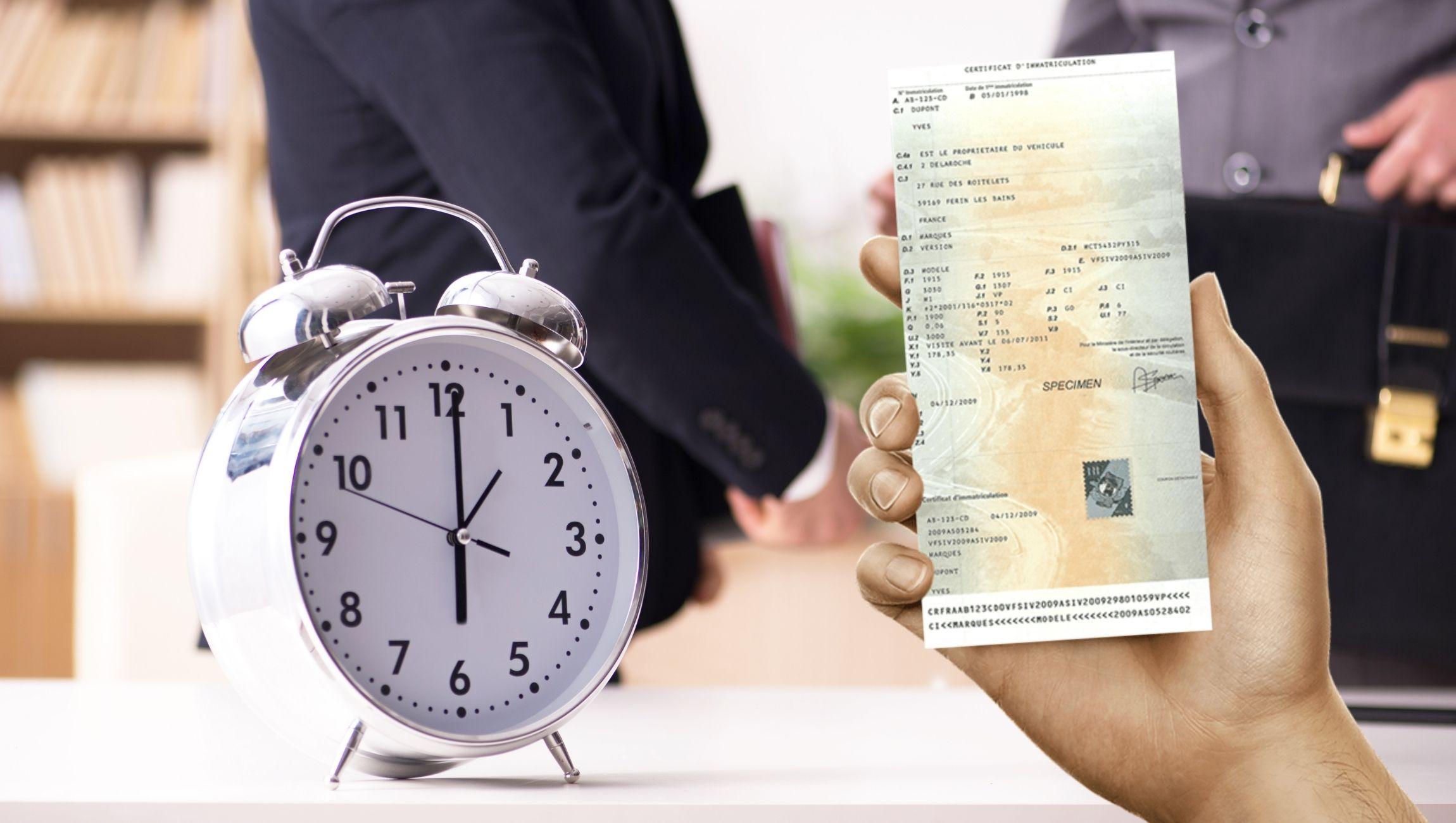 Changement d'adresse de carte grise : combien de temps ? Quels sont les délais ?