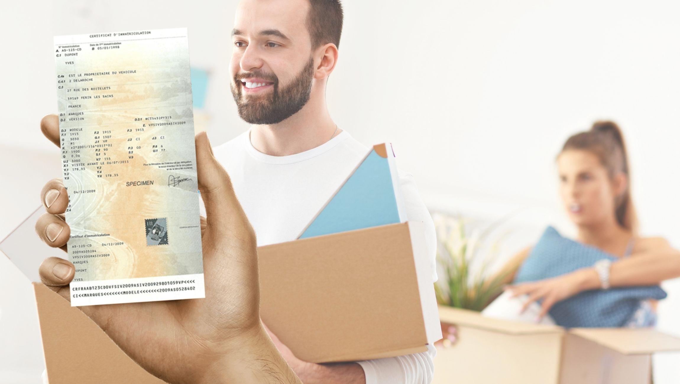 Changement d'adresse carte grise non fait après 1 mois / plus d'1 mois