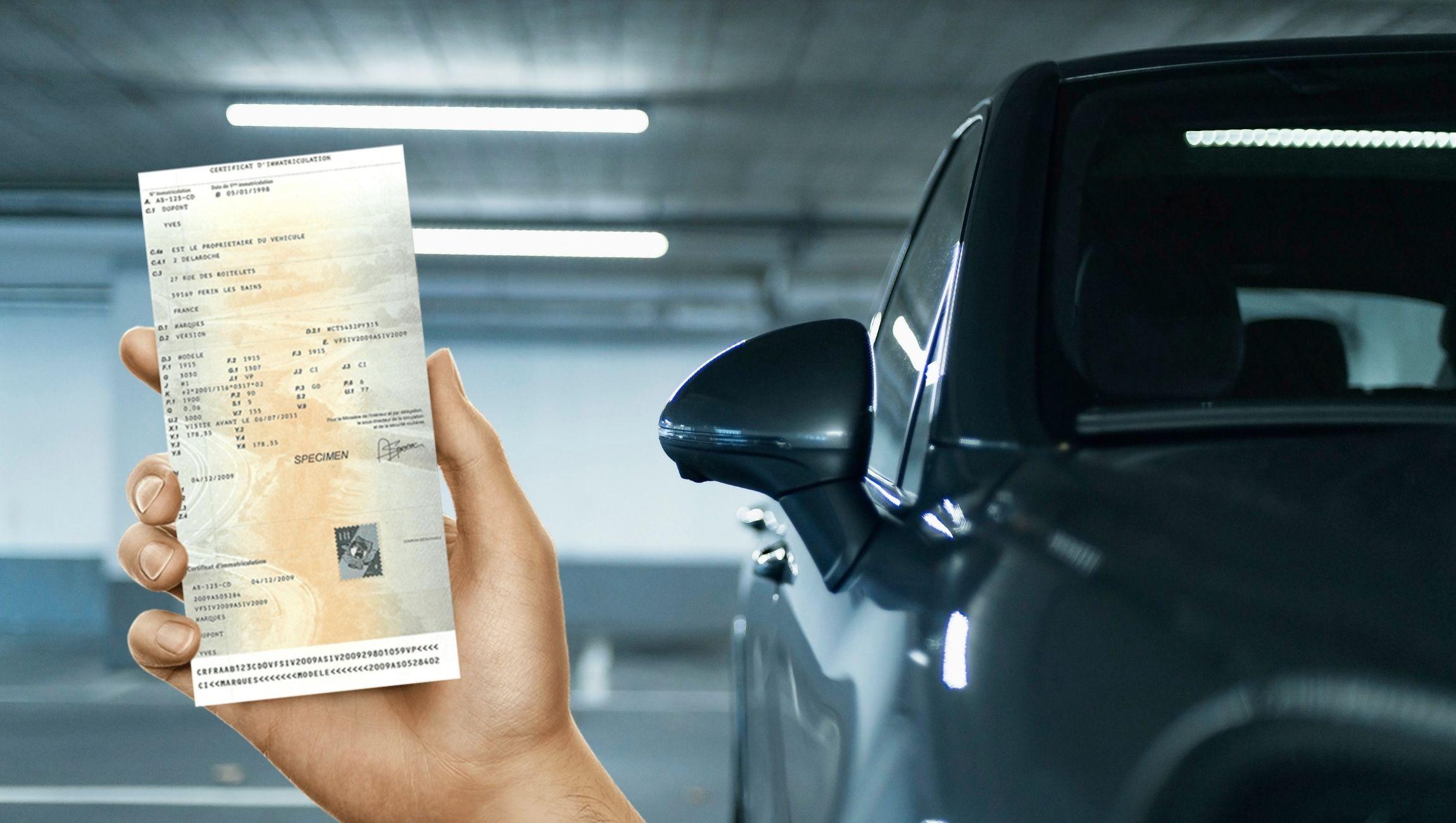 Changement d'adresse carte grise voiture