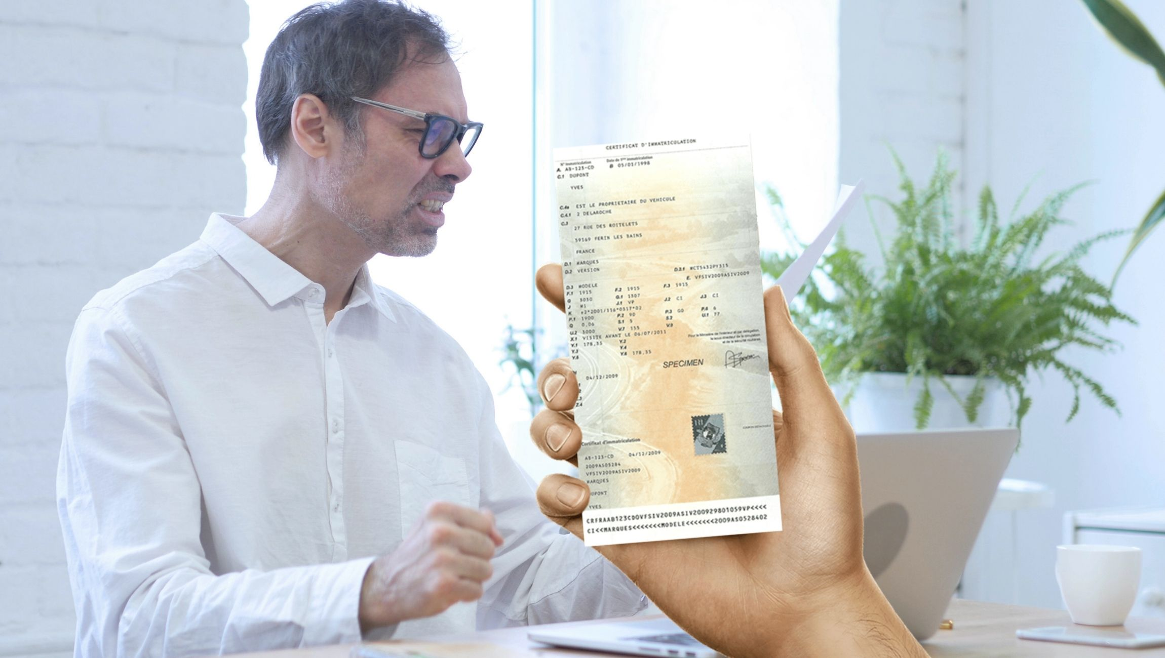 Perte de carte grise : demande de duplicata en ligne