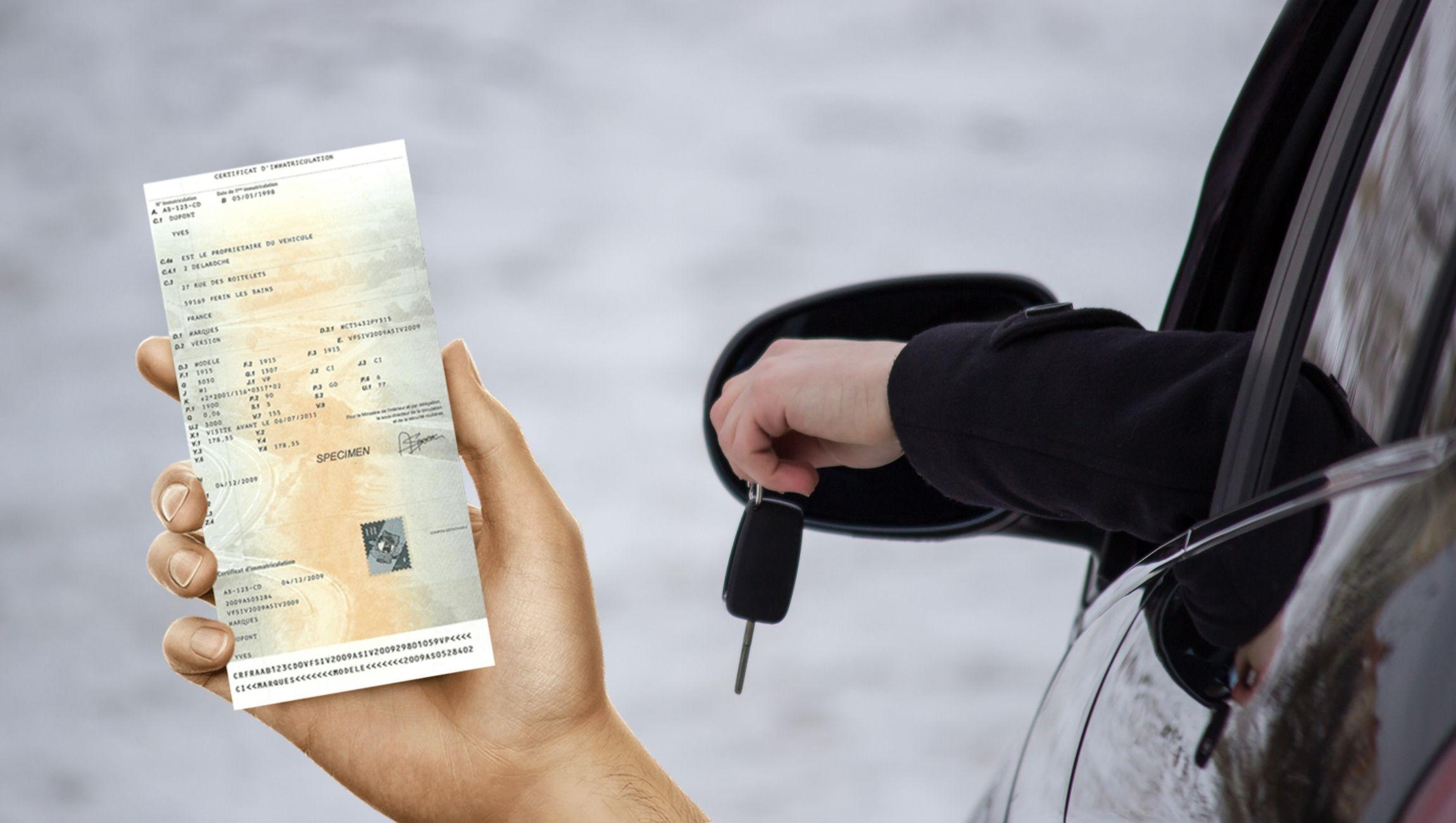 Perte carte grise voiture : déclaration en ligne