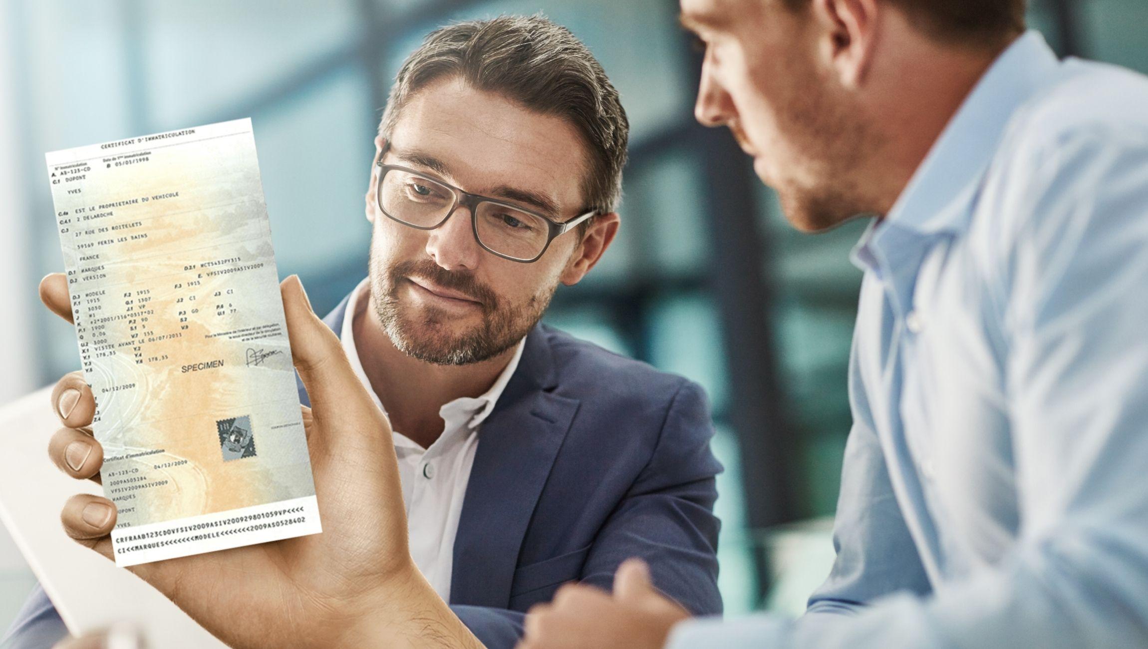Perte carte grise d'un véhicule de société/entreprise : déclaration en ligne