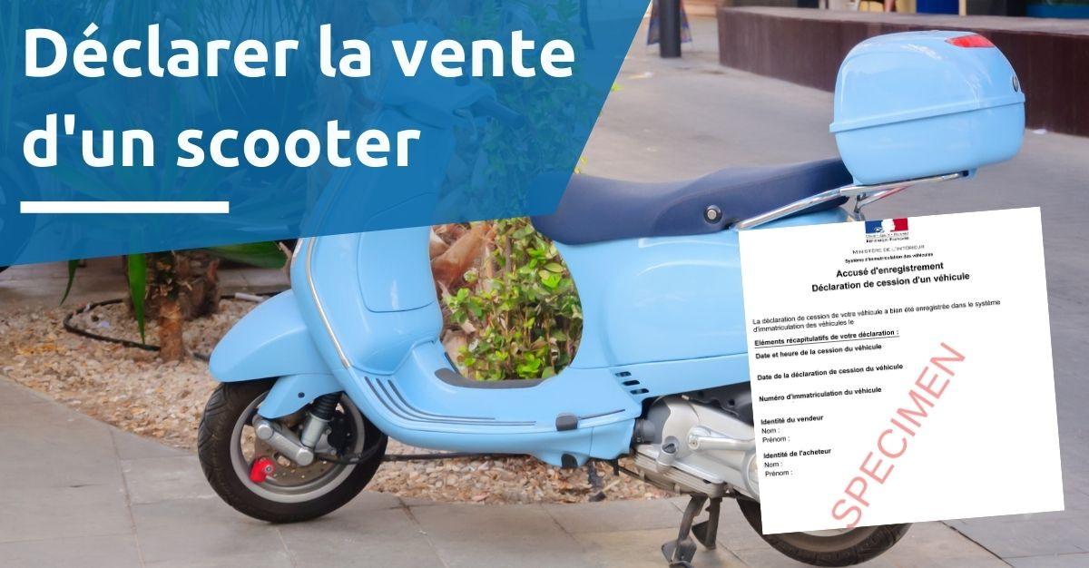 Enregistrer la vente d'un scooter