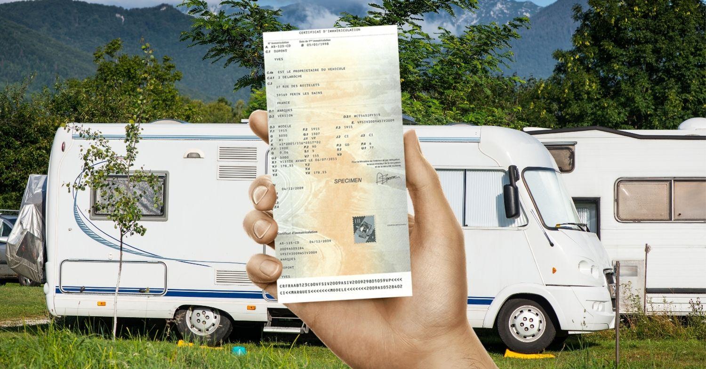 Changement carte grise camping car en ligne